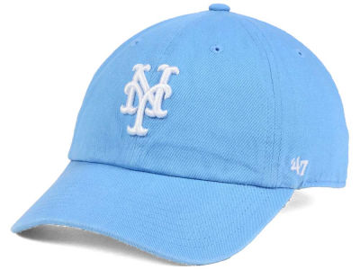 New York Mets '47 MLB Powder Blue/White '47 CLEAN UP Cap