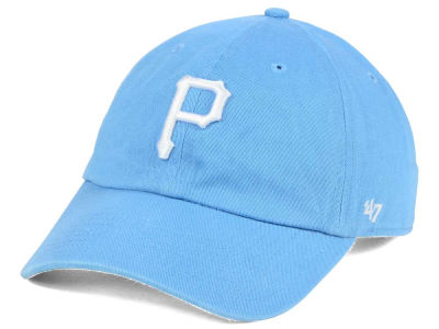 Pittsburgh Pirates '47 MLB Women's Powder Blue/White '47 CLEAN UP Cap