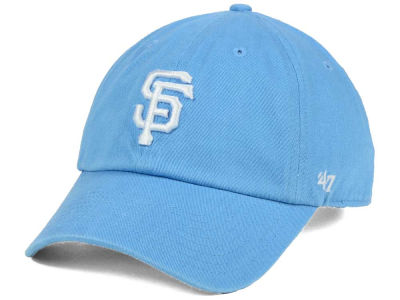 San Francisco Giants '47 MLB Powder Blue/White '47 CLEAN UP Cap