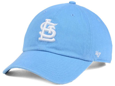 St. Louis Cardinals '47 MLB Powder Blue/White '47 CLEAN UP Cap