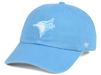 Toronto Blue Jays '47 MLB Women's Powder Blue/White '47 CLEAN UP Cap