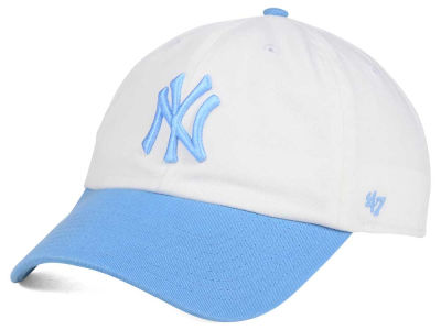 New York Yankees '47 MLB Powder Blue/White '47 CLEAN UP Cap