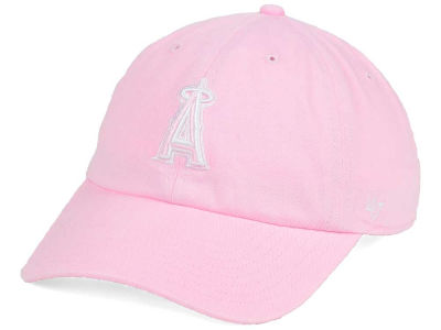 Los Angeles Angels '47 MLB Pink/White '47 CLEAN UP Cap