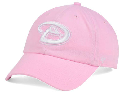 Arizona Diamondbacks '47 MLB Pink/White '47 CLEAN UP Cap