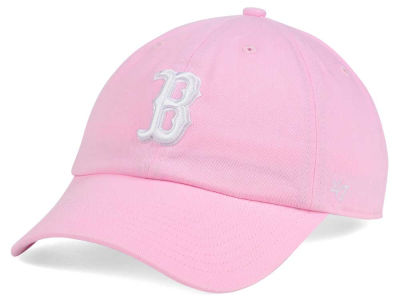 Boston Red Sox '47 MLB Pink/White '47 CLEAN UP Cap