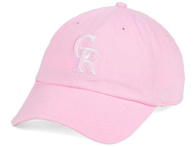 Colorado Rockies '47 MLB Pink/White '47 CLEAN UP Cap