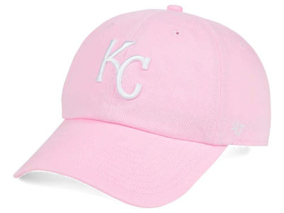 Kansas City Royals '47 MLB Pink/White '47 CLEAN UP Cap