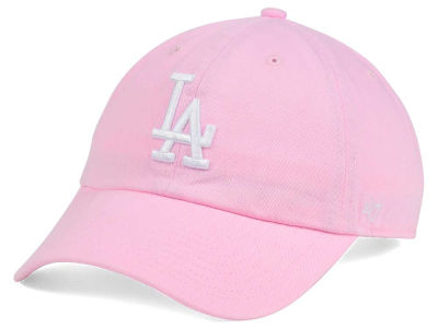 Los Angeles Dodgers '47 MLB Pink/White '47 CLEAN UP Cap