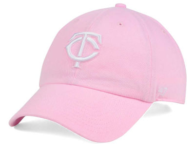 Minnesota Twins '47 MLB Pink/White '47 CLEAN UP Cap