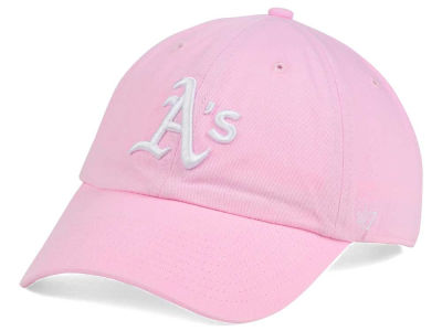 Oakland Athletics '47 MLB Pink/White '47 CLEAN UP Cap