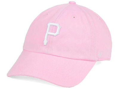 Pittsburgh Pirates '47 MLB Pink/White '47 CLEAN UP Cap