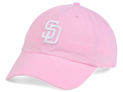 San Diego Padres '47 MLB Pink/White '47 CLEAN UP Cap
