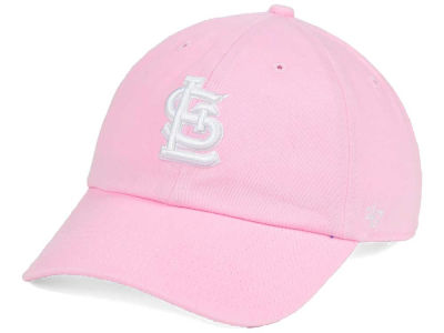 St. Louis Cardinals '47 MLB Pink/White '47 CLEAN UP Cap