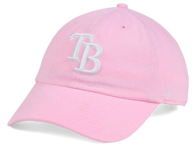 Tampa Bay Rays '47 MLB Pink/White '47 CLEAN UP Cap
