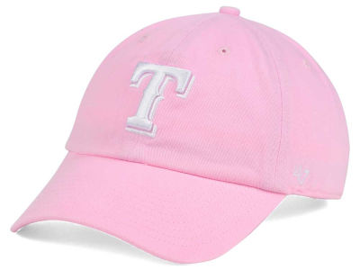 Texas Rangers '47 MLB Pink/White '47 CLEAN UP Cap