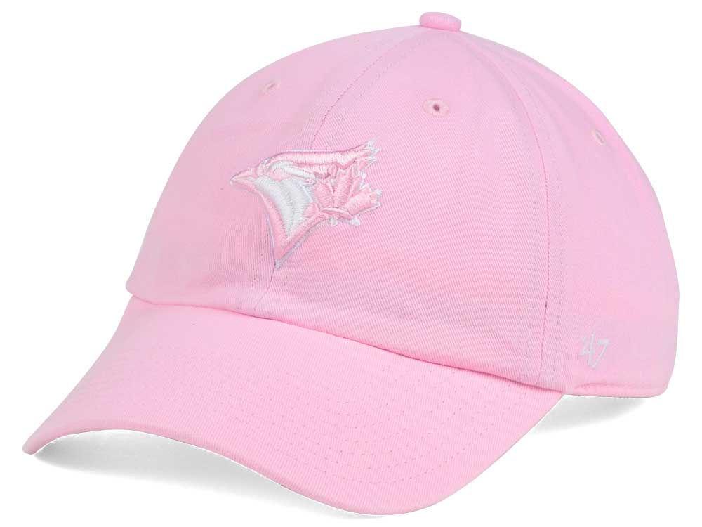 Toronto Blue Jays  47 MLB Pink White  47 CLEAN UP Cap  3babc1c3377