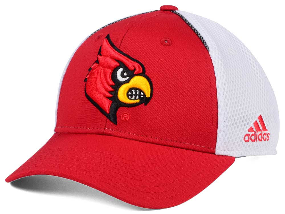 95b2c2c62a6 ... mens adidas red louisville cardinals two tone verbiage flex hat 8385d  14c59  buy louisville cardinals adidas ncaa spring game structure cap 071fd  bb133