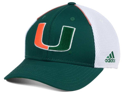Miami Hurricanes adidas NCAA Spring Game Structure Cap