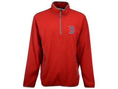 Boston Red Sox MLB Men's Ice Pullover Quarter Zip Pullover