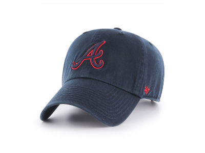 Atlanta Braves '47 MLB Tonal Pop '47 CLEAN UP Cap