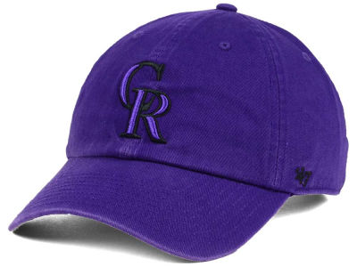 Colorado Rockies '47 MLB Tonal Pop '47 CLEAN UP Cap