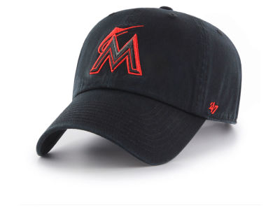 Miami Marlins '47 MLB Tonal Pop '47 CLEAN UP Cap