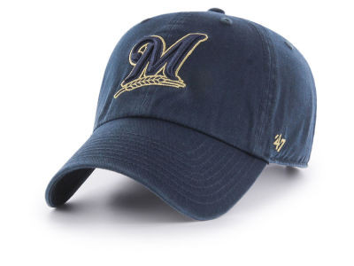Milwaukee Brewers '47 MLB Tonal Pop '47 CLEAN UP Cap