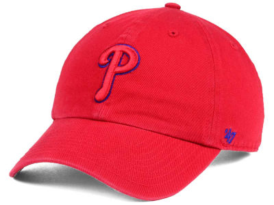 Philadelphia Phillies '47 MLB Tonal Pop '47 CLEAN UP Cap