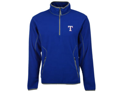 Texas Rangers MLB Men's Ice Pullover Quarter Zip Pullover