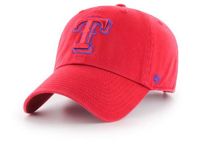 Texas Rangers '47 MLB Tonal Pop '47 CLEAN UP Cap