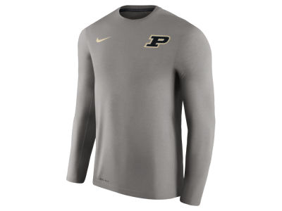 Purdue Boilermakers Nike NCAA Men's Dri-Fit Touch Longsleeve T-Shirt