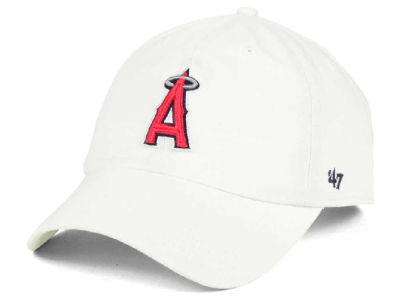 Los Angeles Angels '47 MLB White '47 CLEAN UP Cap