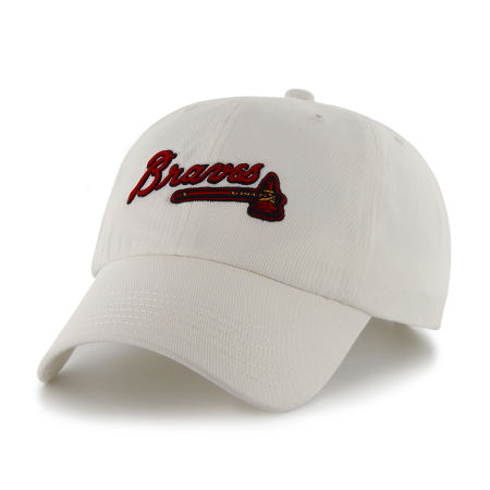 Atlanta Braves '47 MLB White '47 CLEAN UP Cap