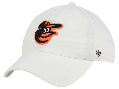 Baltimore Orioles '47 MLB White '47 CLEAN UP Cap