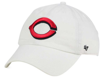 Cincinnati Reds '47 MLB White '47 CLEAN UP Cap