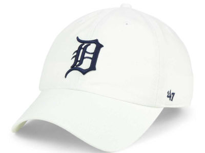 Detroit Tigers '47 MLB White '47 CLEAN UP Cap