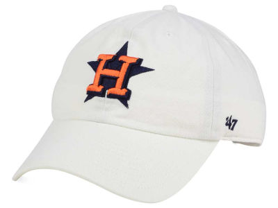 Houston Astros '47 MLB White '47 CLEAN UP Cap
