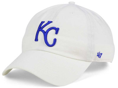 Kansas City Royals '47 MLB White '47 CLEAN UP Cap