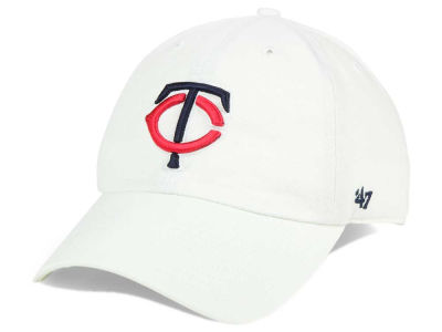 Minnesota Twins '47 MLB White '47 CLEAN UP Cap