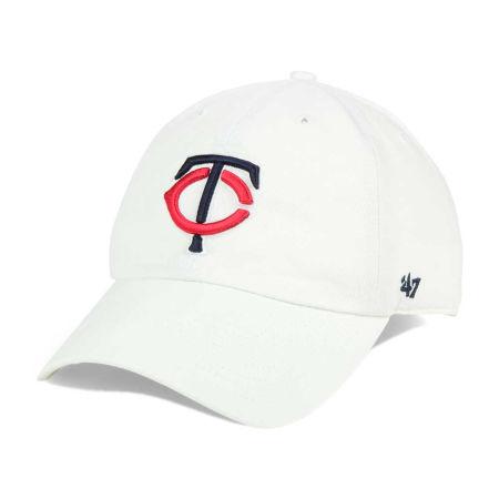 Minnesota Twins '47 MLB White '47 CLEAN UP Cap