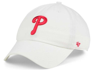 Philadelphia Phillies '47 MLB White '47 CLEAN UP Cap