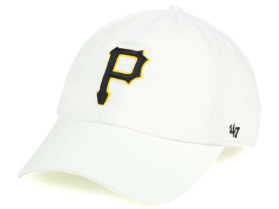 Pittsburgh Pirates '47 MLB White '47 CLEAN UP Cap