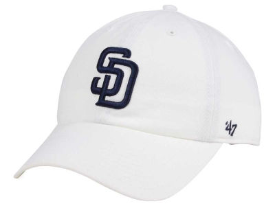 San Diego Padres '47 MLB White '47 CLEAN UP Cap