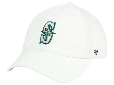 Seattle Mariners '47 MLB White '47 CLEAN UP Cap