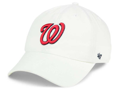 Washington Nationals '47 MLB White '47 CLEAN UP Cap
