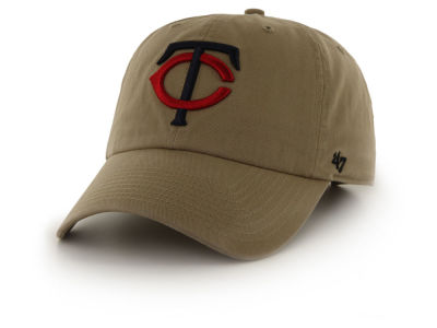Minnesota Twins '47 MLB Khaki '47 CLEAN UP Cap