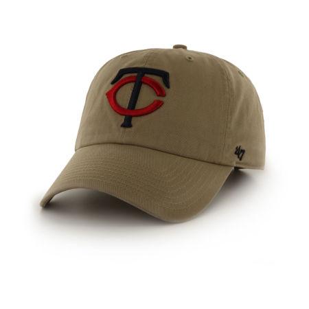 Minnesota Twins '47 MLB Khaki '47 CLEAN UP Cap