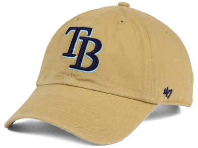 Tampa Bay Rays '47 MLB Khaki '47 CLEAN UP Cap