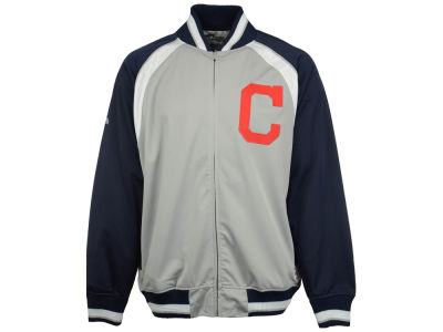 Cleveland Indians MLB Men's Stitch Colorblock Track Jacket