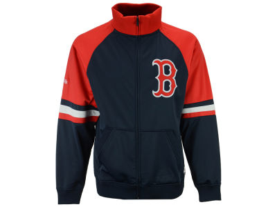 Boston Red Sox MLB Men's Stitch Colorblock Track Jacket